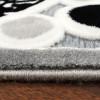 Hochwertiger Luxus Teppich Ayyildiz Espina Kreise grau